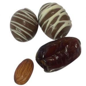 بهترین شکلات خرمایی مغزدار